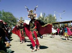 A dancer in the Tirana festivity in Chile. Baile Jazz, Urban Life, Bolivia, Caribbean, Africa, Celebrities, People, Diversity, Geo