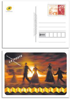 Fête du Timbre 2012 : un entier postal en cadeau, 47.000 exs © ADphile, Phil@poste / La Poste, DR.