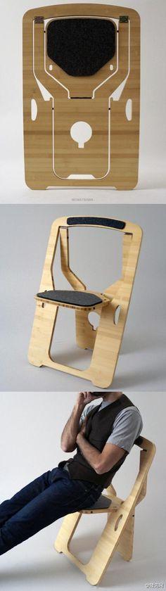 记得小时候开运动会时,最头疼的事情就是要带椅子。 Leo Salom的便携椅子提带方便,节省空间,只是现在已经错过参加运动会的年龄了。