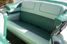 1956 Buick Roadmaster Convertible - Reupholstered Rear Seats - After - LeBaron Bonney Company: www.lebaronbonney.com (4)
