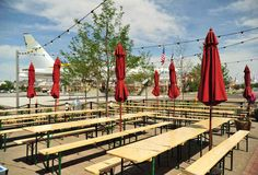 Lowry Beer garden-How to dominate Oktoberfest in Mile High