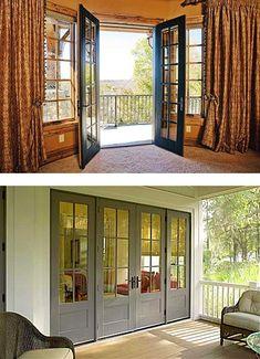 Transform your outdoor space with a new patio door - https://www.windowanddoorsolutions.com/doors/