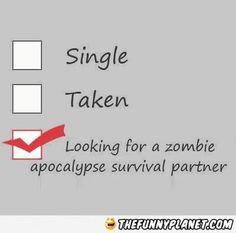 My New Relationship Status. Walking Dead!!!
