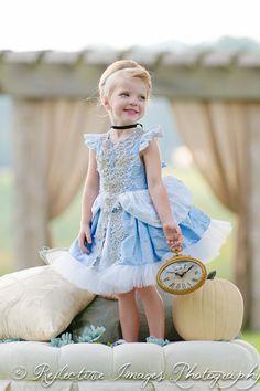 PINK color change Cinderella costume Blue by FairytaleJubilee