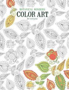 Botanical Wonders Color Art For Everyone