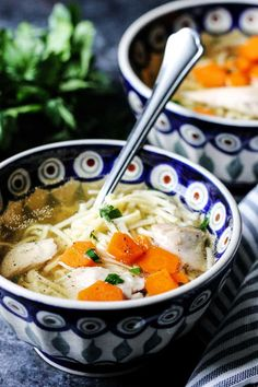 Rosol – Polish Chicken Soup (Authentic Recipe) – Eating European – Famous Last Words Soup Recipes, Cooking Recipes, Cafe Recipes, Drink Recipes, Chicken Recipes, Polish Soup, Polish Chicken, Food Porn, Soups