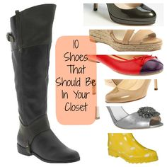 10 Shoes That Should Be In Your Closet