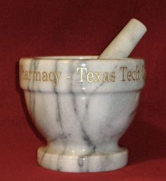Personalized Marble Mortar and Pestle - Crystal Images, Inc.