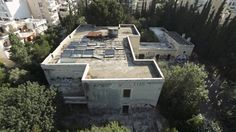 Villa Iolas , the 1700sq m. house of τhe world famous art dealer and collector Alexander Iolas, once filled with important pieces of Art, stands today abandoned and decayed.