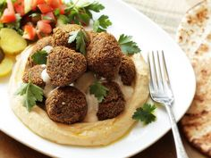 Falafel made with soaked dried chickpeas