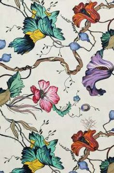 French Floral Colour fabric from Edit