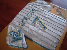 Pin Milwaukee Brewer Birthday Cake My Nephew S Ala A On
