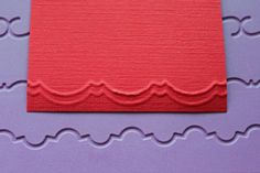 The Crafter's Companion - Dry Embossed Edge Tutorial - Splitcoaststampers