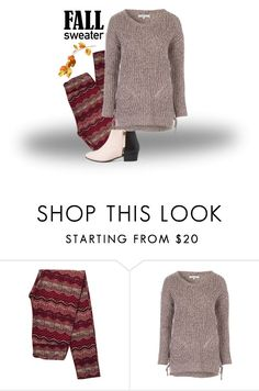 """Fall sweater"" by jez-alex ❤ liked on Polyvore featuring Nine to Five"