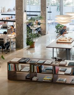 MESURA have created a practical, flexible and aesthetically pleasing design for their offices located in Barcelona, Spain. For the concept design of our Design Studio Office, Office Interior Design, Office Interiors, Office Designs, Office Ideas, Corporate Office Decor, Corporate Offices, Office Cube, Spanish Design