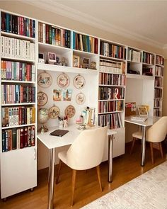 Cozy Home Library, Library Room, Bookshelves, Bookcase, Home Libraries, Book Nooks, Cozy House, Small Spaces, Kids Room