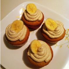 Banana Fosters Cupcakes !