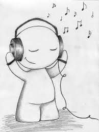 He enjoys listening to music, something I can't love without.