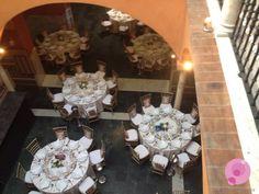 #Decoración de la #boda y #mesas