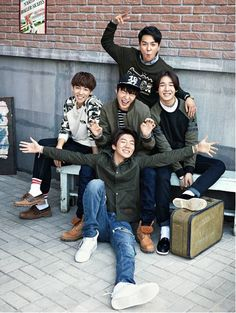 WINNER Models Clothing Brand 'NII's 2014 F/W Collection | Koogle TV