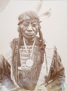 Blue Horse (1822—July 16, 1908) was a leader of the Wágluȟe Band of Oglala Lakota, warrior, statesman and educator.
