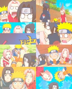 Team 7  -Naruto.. some of the best moments