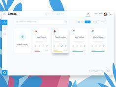 Survey Dashboard by DStudio™ on Dribbble Web Dashboard, Dashboard Design, Ui Web, Minimal Web Design, Pepsi, Design Thinking, Branding, Survey Design, Web Ui Design