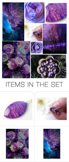 """""""Amethyst Love"""" by crystalglowdesign ❤ liked on Polyvore featuring art"""