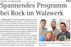 Gig announcement. The J Conspiracy - Progressie rock from Germany