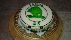 Škoda car cake