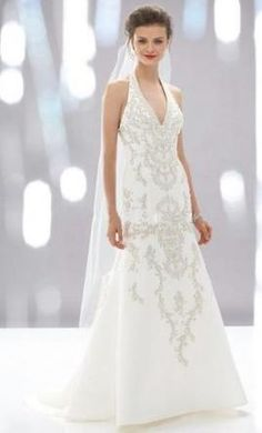 Used Watters Wedding Dress 12245, Size 12