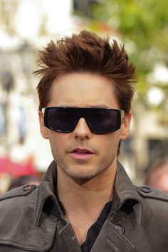 Pin for Later: Join Us in Obsessing Over Jared Leto's Amazing Hair Evolution 2011 Redheaded Jared is just as visually pleasing as blonde Jared and brunette Jared.
