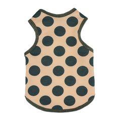 Fitwarm Cute Polka Dot Pet Clothes for Dog Shirts Tank Top Vest, Pink >>> Visit the image link more details.