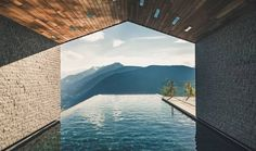 Miramonti Boutique Hotel - luxury hotel in merano, italy. Between snow-capped mountains and emerald forests, Miramonti Boutique Hotel is in a magical setting. Design Hotel, Chalet Design, Design Design, Interior Design, Hotel Pool, Hotel Spa, Spas, Hotel Alpen, Hotel Berg