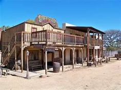 31 Wild West town
