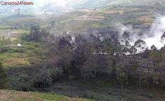 Indonesian rescue helicopter crashes near active volcano, 8 people dead