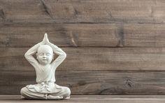 Sitting buddha. Meditation by LiliGraphie on Creative Market