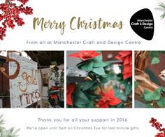 Gifts they won't forget this #Christmas #MemoriesAreMadeHere at Manchester Craft & Design Centre #jewellery #ceramics #textiles #glass #art #craft