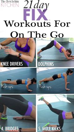 21 Day Fix Workouts – On The Go Fitness