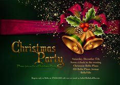 sample invitation card for christmas party
