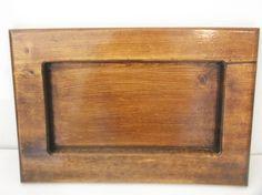 13.5 x 9 inch tray  red oak decorative or  marijuana wood  tray