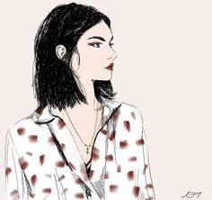 Fashion Illustration by Amber Day of DESIGNXIETY