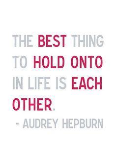 Love audrey