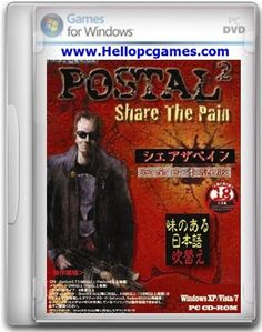 Postal 2 Share The Pain PC Game File Size: 537.75 MB System Requirements: CPU: 733 MHz Processor OS: Windows Xp,7,Vista,8,10 Hard Drive Space: 1.5 GB RAM Memory: 128 MB Video Memory: 32 MB Sound Card: Yes DirectX: 9.0 Download Serious Sam 3 BFE Deluxe Edition Game Related Post Zombie Shooter PC Game Die Hard Nakatomi …