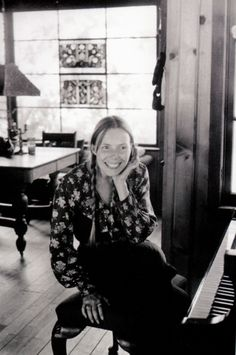 "the ever-so-talented joni mitchell...i think she might have written the lyrics to ""our house"" in this very place. it's my most favorite song of all time! <3"