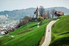 The Hills Of Kriens, Switzerland