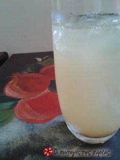 Λεμονάδα με μέλι και κανέλα #sintagespareas Vitamin C, Glass Of Milk, Drinks, Recipes, Smoothie, Food, Drinking, Beverages, Recipies