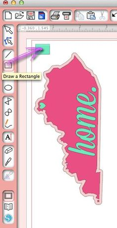 How To Layer Vinyl And Make A Home State Decal Layering Cricut - How to make vinyl decals at home