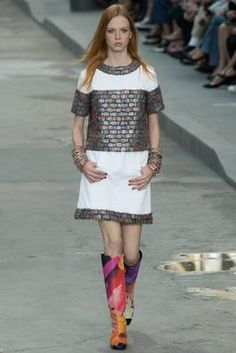 Chanel Spring 2015 Ready-to-Wear Fashion Show: Complete Collection - Style.com