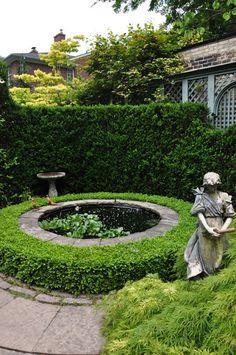 Gorgeous garden pool